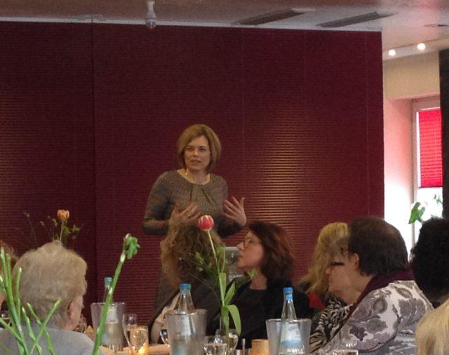Frauen, Wirtschaft und Politik - eine gelungene Mischung beim Business-Lunch in Bad Kreuznach